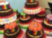 Gâteau de bonbons 3 étages