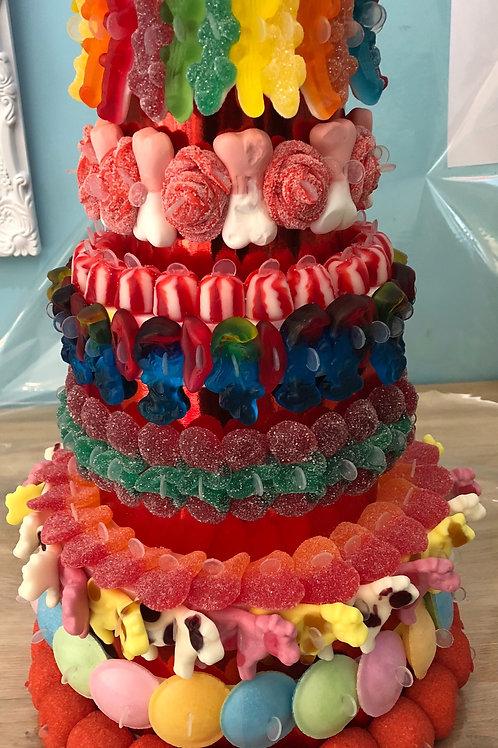 Gâteaux 3 étages plus