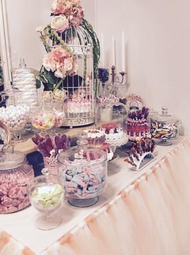 candy bar fleuri