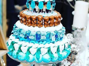 Gâteau de bonbons 4 étages