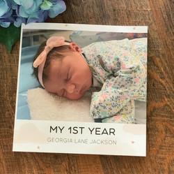 Georgia's 1st Year Album