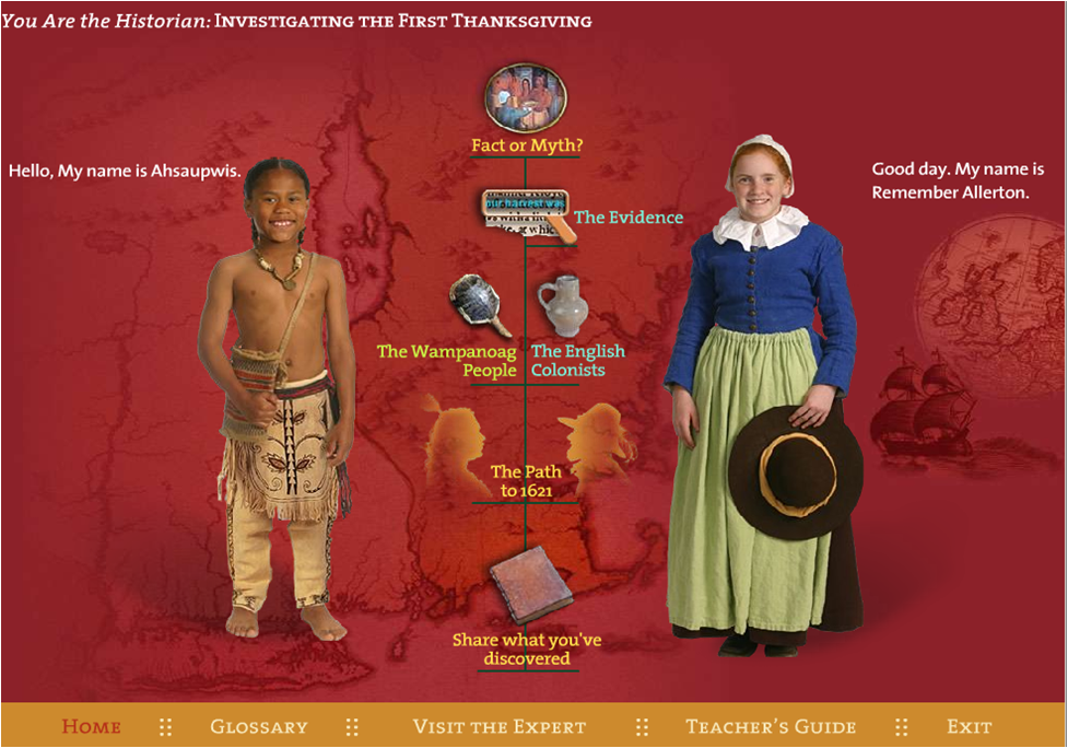Virtual Field Trip Tour of Plimoth Plantation