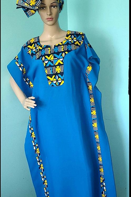 African gandoura dress