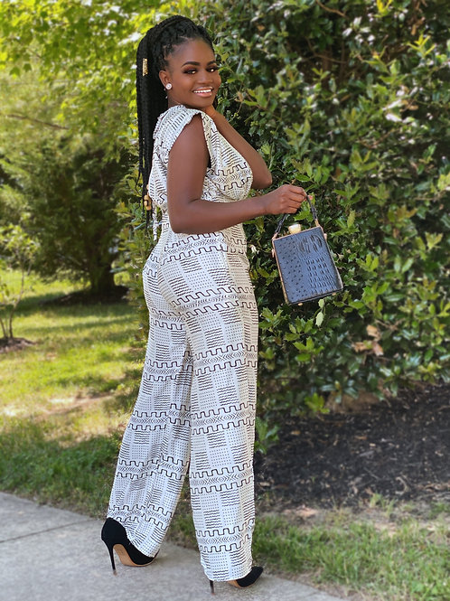 The Nandeh silk jumpsuit