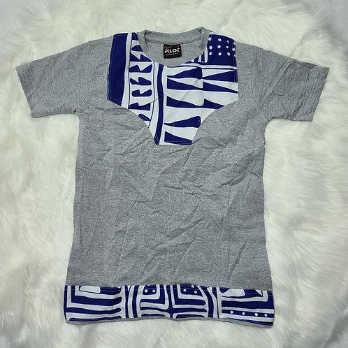 Ankara print customized t-shirts for kids / toddlers t-shirts