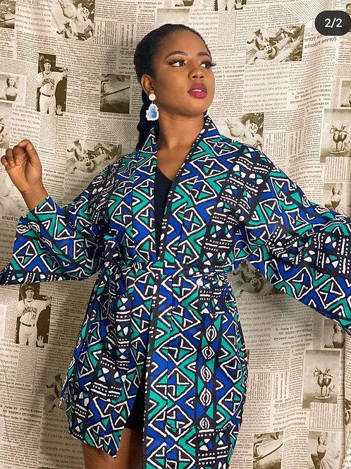 Ankara kimono & belt