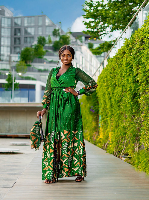 The Njhouong silk dress