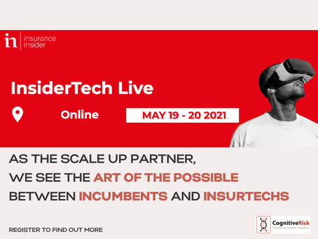 We're part of Insidertech Live 2021