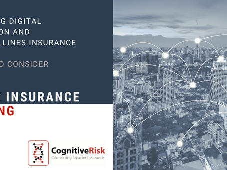 Digital distribution in the speciality insurance market