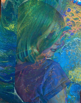 Adalie In a Painting