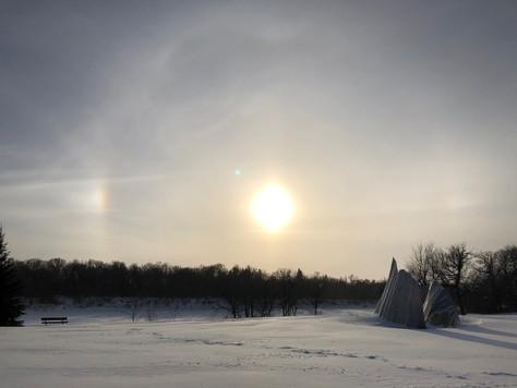 Ice On The Assiniboine