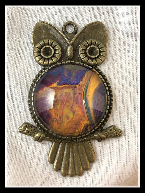 Owl in Bronze