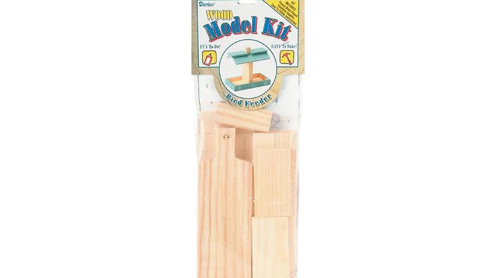 Wooden Bird feeder Model