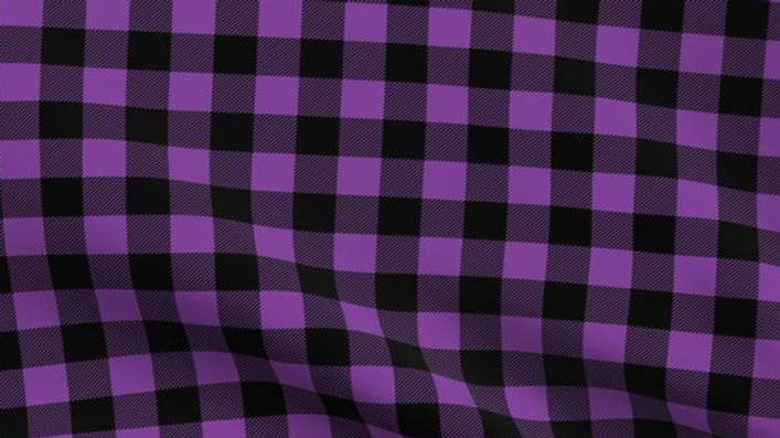 Textile Creations: Windstar Flannel Purple/Black Buffalo Check 056
