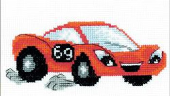 """Lightning RIOLIS Counted Cross Stitch Kit 6.25""""X5""""  (14 Count)"""