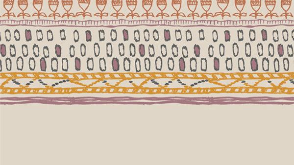 Art Gallery Premium Cotton- Spirited, Embellished Threads Nomad