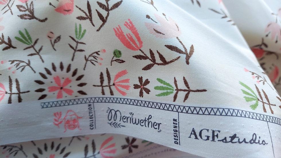 Art Gallery Premium Cotton Meriwether: Meadow Mandala Awaken MEW-46302