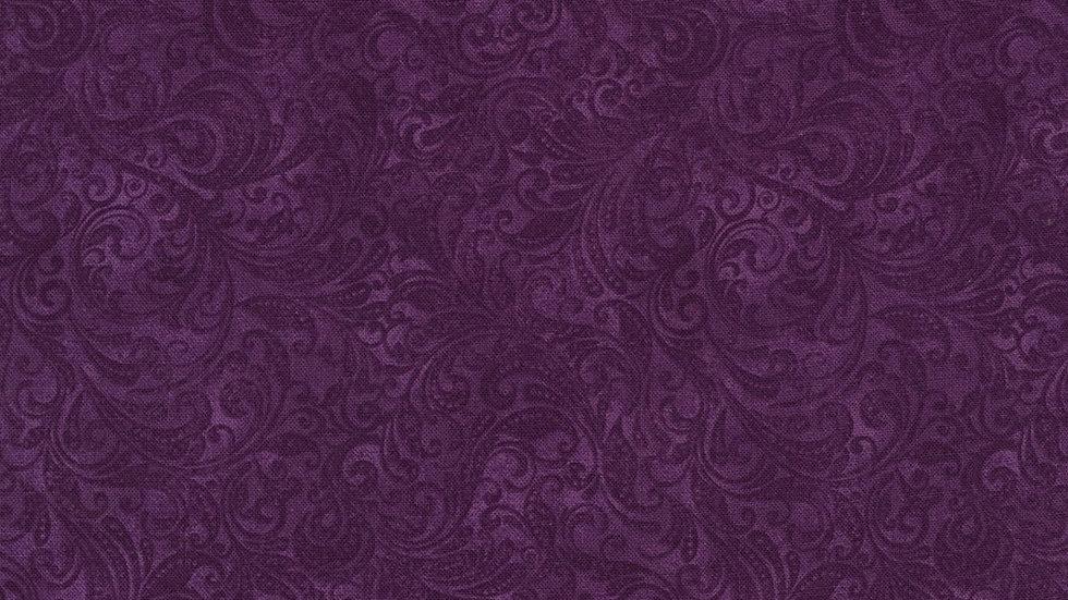 Timeless Treasures Belle Grape Cotton