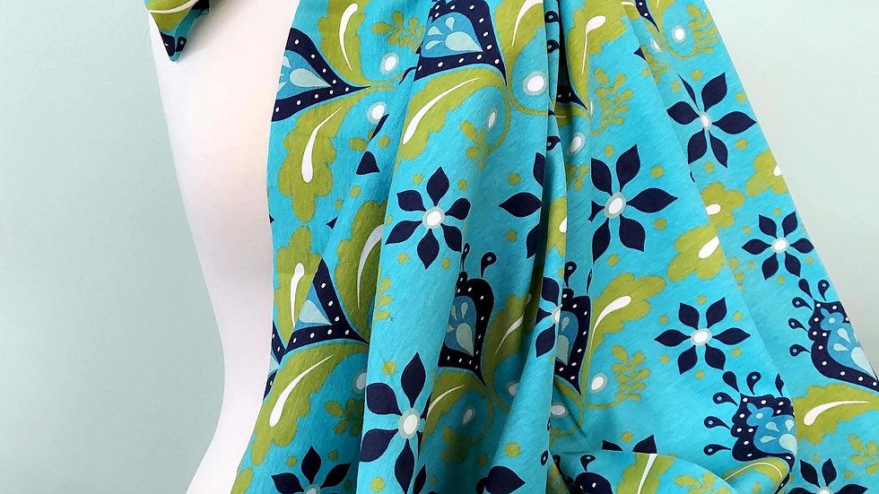 Monaluna Organic Cotton Knit: Nile Flower Knit MKK-06-BLT