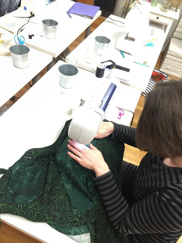 Adult Beginner Machine Sewing Series