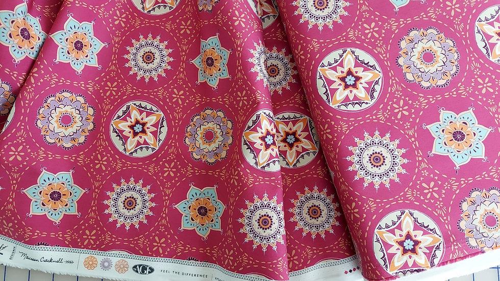 Art Gallery Premium Cotton Soulful: Mandala Harmony Vivid 2630