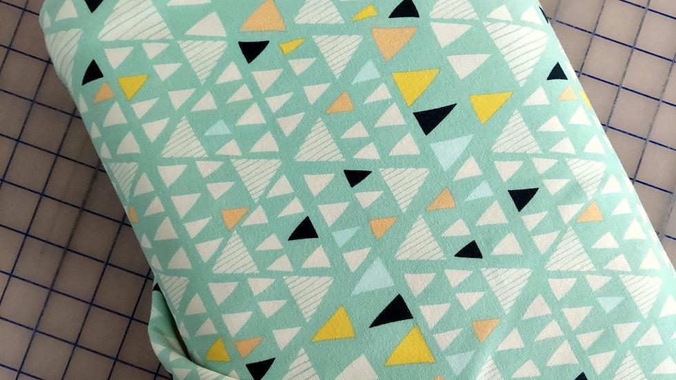 Art Gallery Fabrics Knit: Morning Walk Mojave Aloe K-2116