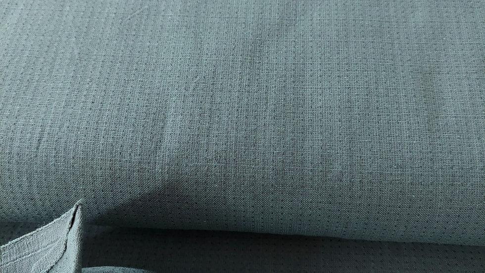 Diamond Textiles Yarn Dyed Cotton- Nikko Topstitch French Grey 4801
