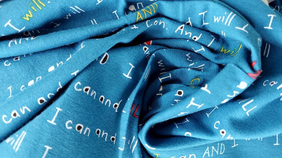 Art Gallery Fabrics Knit: The Motto Highlighted K-10057