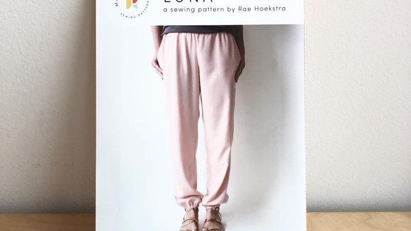 Luna Pants- Made by Rae Printed Sewing Pattern