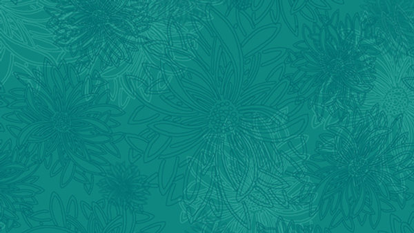 Art Gallery Premium Cotton- Floral Elements, Esmeralda