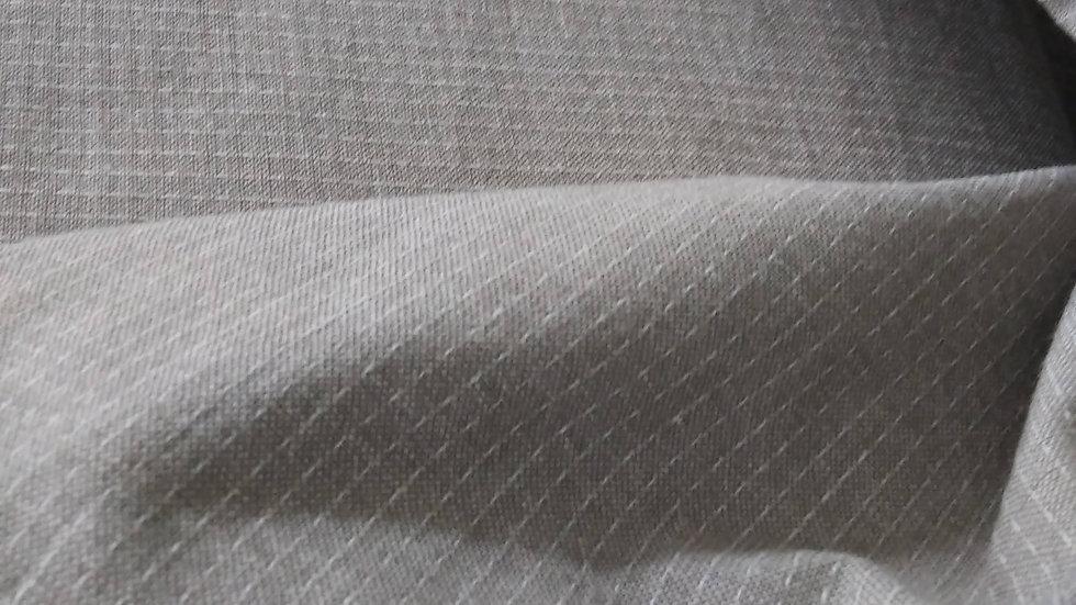 Diamond Textiles Yarn Dyed Cotton- Nikko Topstitch Light Pewter 4807