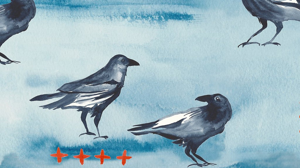 Monaluna Organic Cotton Blackbird Poplin #21