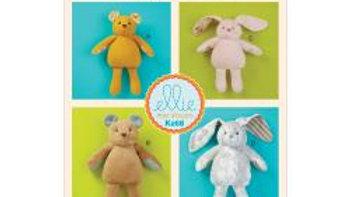 Huggable Pets Soft Bear and Bunny Pattern