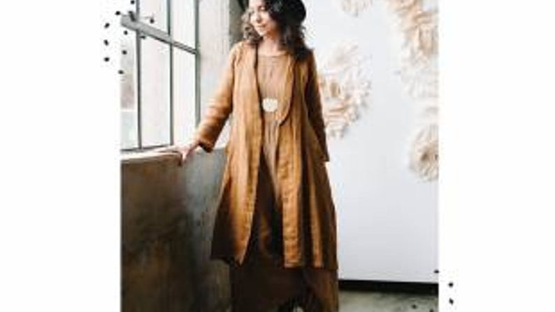 Lichen Duster sewing pattern by Sew Liberated