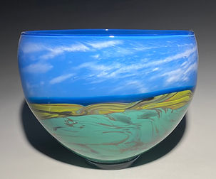 Plains Landscape Vessel