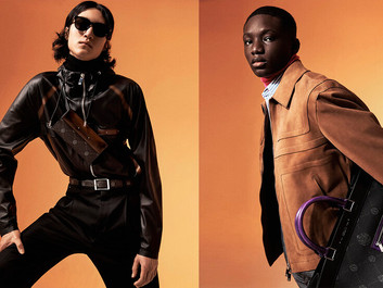 Graphic silhouettes and vibrant colours bring a sunny disposition to Berluti's SS21
