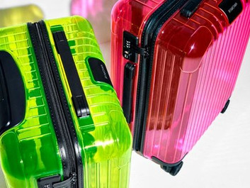 RIMOWA EXPANDS ESSENTIAL COLLECTION WITH NEON COLORS