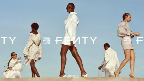 Rihanna's Fenty campaign | Source: Courtesy