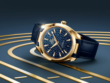 Introducing This New Omega Seamaster Aqua Terra Is Olympic Gold