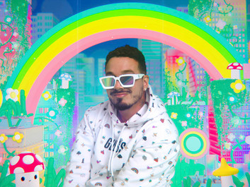 J Balvin Stars in Campaign for Guess x FriendsWithYou Collection