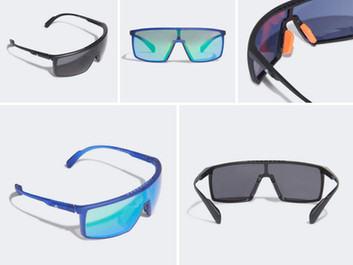 Adidas Eyewear Releases First Two Models With Kolor Up Lens Technology