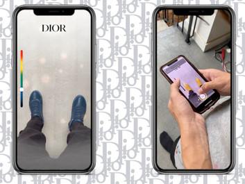EXCLUSIVE: Dior Launches New Men's Accessories Line, Snapchat Lenses
