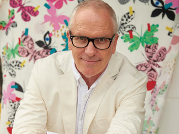Interview: Donald Robertson collaborates with Weekend Max Mara in whimsical collection 'Flutterflies