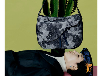 DIOR CONTINUES TO EXPLORE THE ART WORLD WITH PETER DOIG COLLABORATION