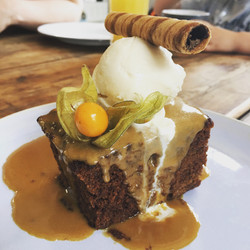 Seriously sticky toffee pudding
