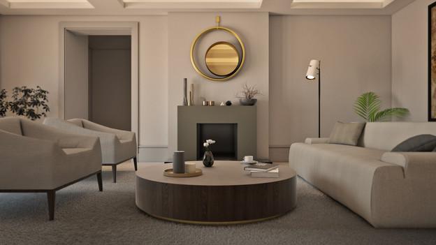 Modernizace obývacího pokoje, Liverpool, VB