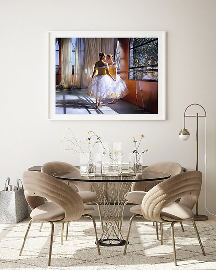 'Friends' - Limited Edition Giclee Print on Canvas