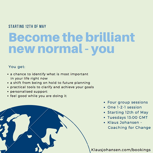 Ticket for the Brilliant New Normal you