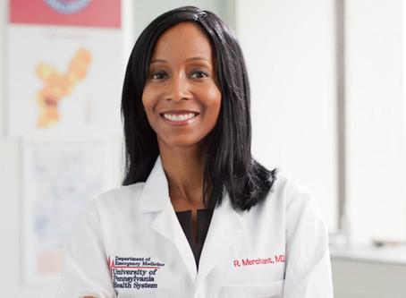 Raina Merchant, MD Receives SAEM Mid Career Award
