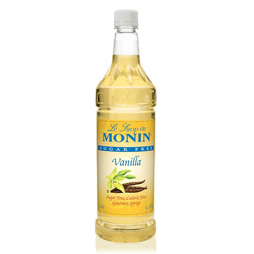 Monin Sugar-Free Vanilla Syrup 1L